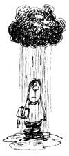 Student_in_Rain black cloud day