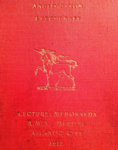 anglo-saxon leechcraft cover image by ShD