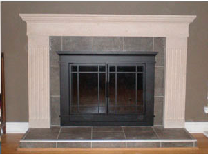 Things for the house my own thoughts for Craftsman gas fireplace